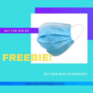 freebie 50-pack of face masks