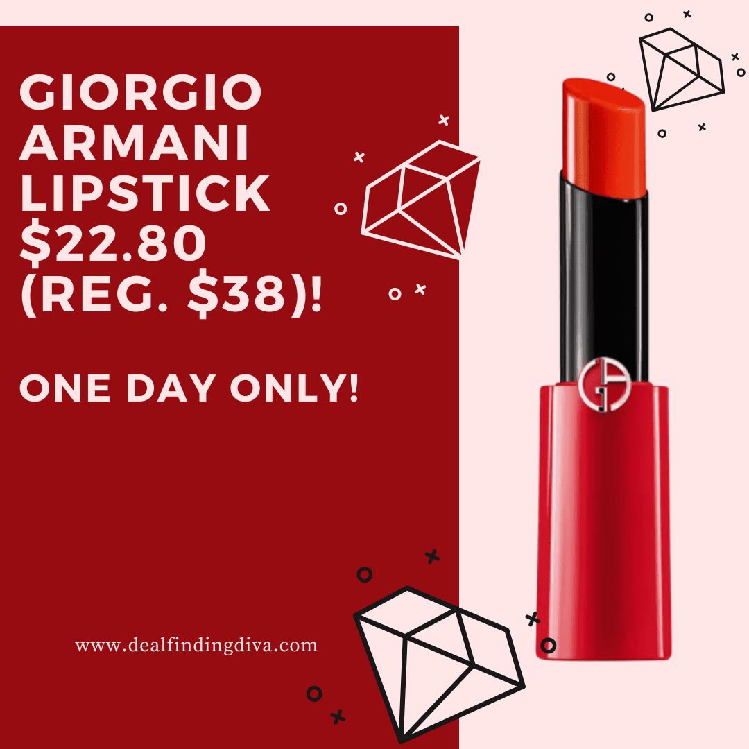 MACY'S ONE DAY SALE GIORGIO ARMANI LIPSTICK