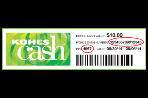 kohl's cash hack