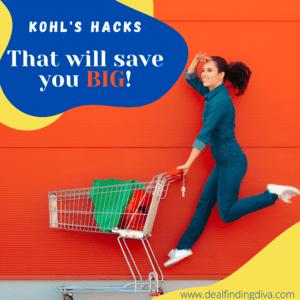 kohl's hacks coupon codes free shipping