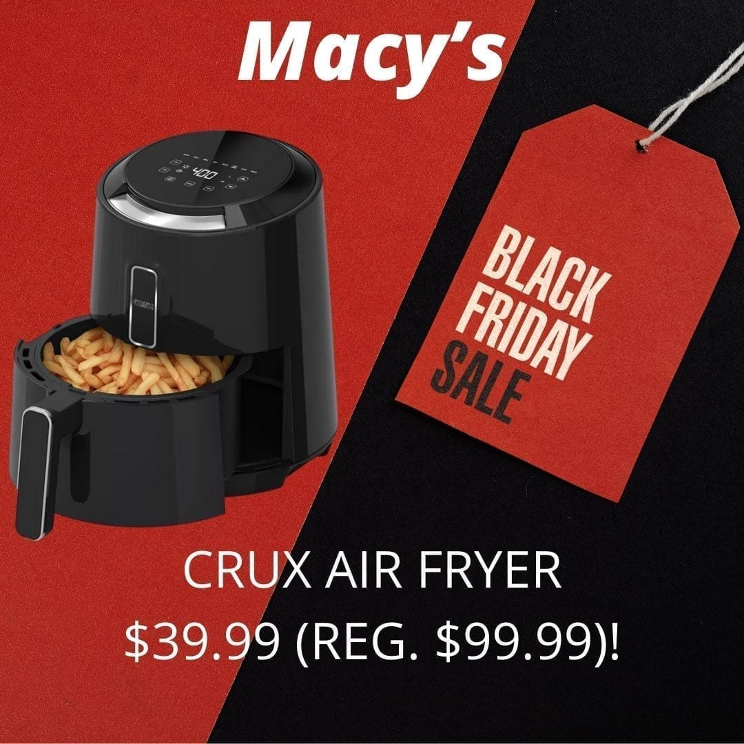 air fryer macy's black friday 2020