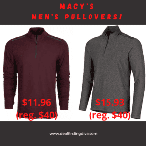 macy's men's pullover fashion style