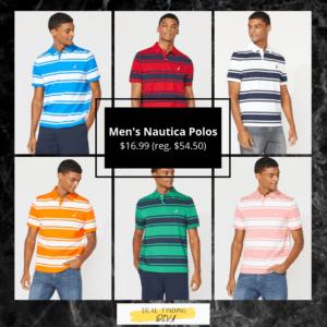 Nautica men's polo shirts