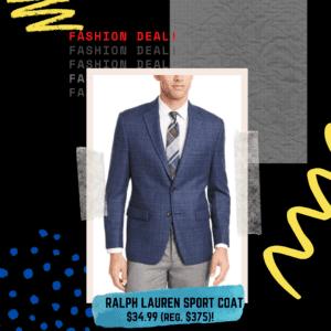 ralph lauren sport coat