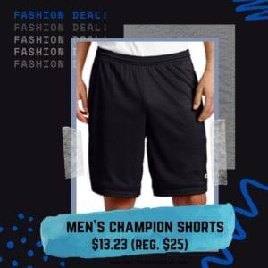men's basketball shorts champion