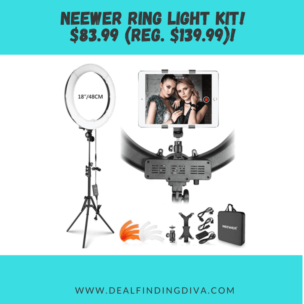 18-inch neewer ring light