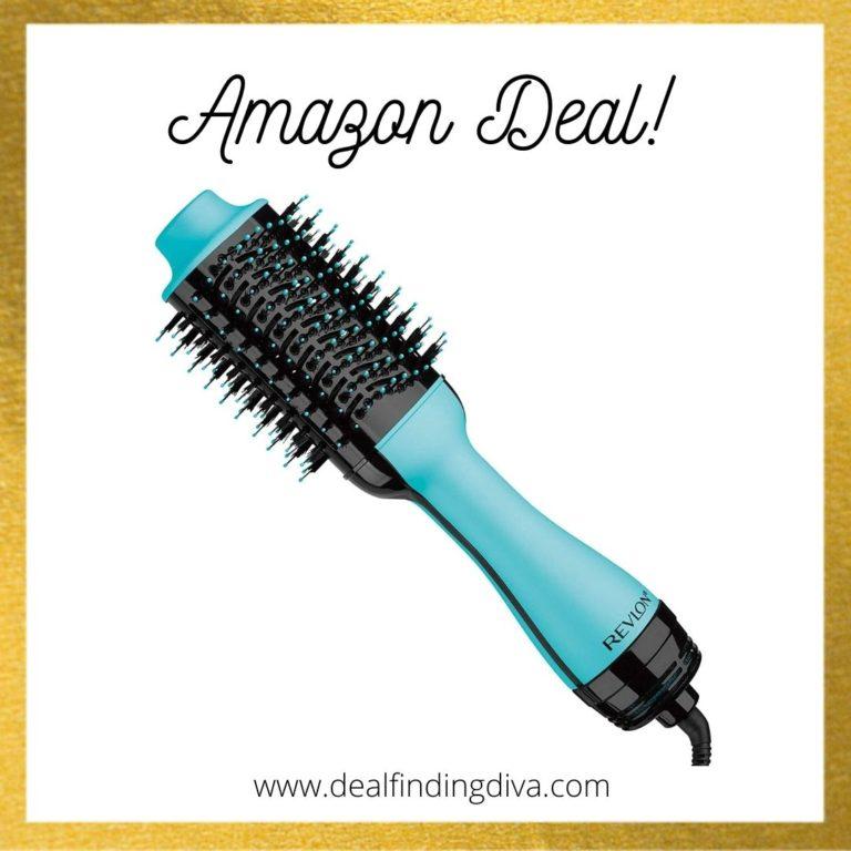 revlon blow dryer brush amazon deal