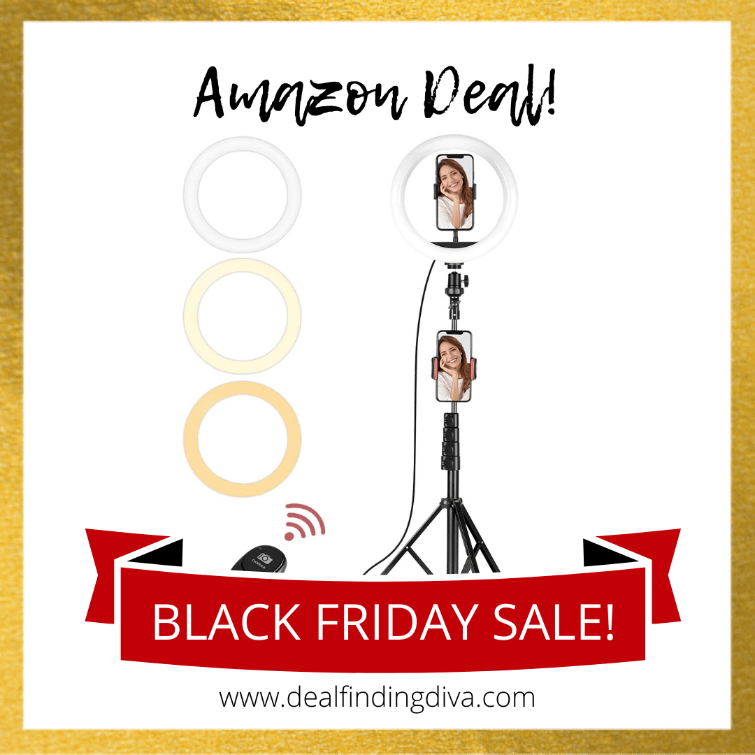 ring light with stand amazon black friday 2020