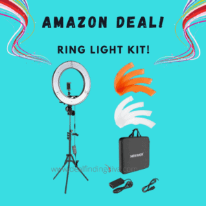ring light 18 inch with stand