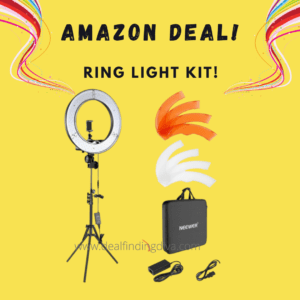 RING LIGHT WITH STAND kit 18 inch