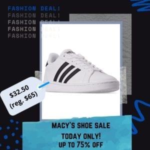 macy's shoe sale flash sale