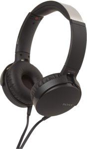 sony headphones recording