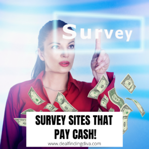 survey sites that pay cash and free gift cards