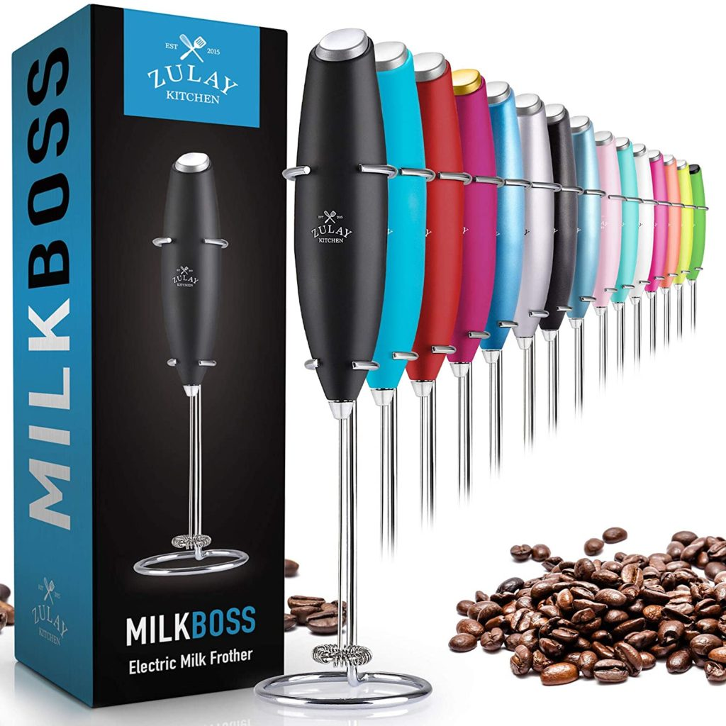 zulay handheld milk frother amazno